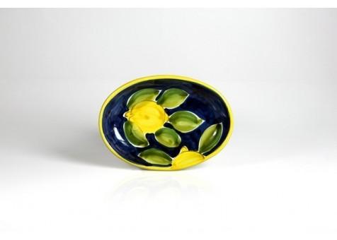Ovale cm.22 limone positano