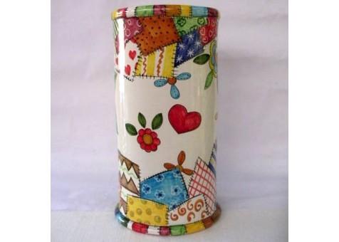 Portombrelli cilindrico patchwork
