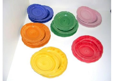 Servizio di piatti ceramica artistica sorrentina - Servizio di piatti ikea ...