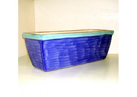 Vaso rettangolare ceramica artistica sorrentina for Vaso rettangolare