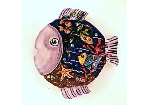 Shaped fish plate