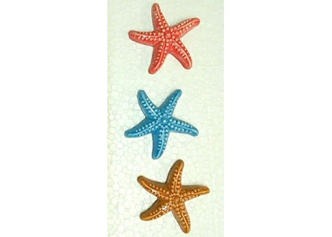 Starfish with magnets