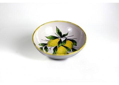 Coppa cm.23 limone fondo bianco