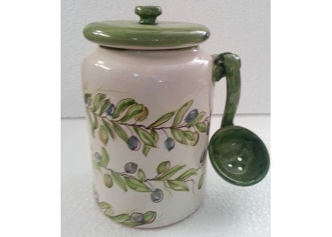 Ceramic  olives pot
