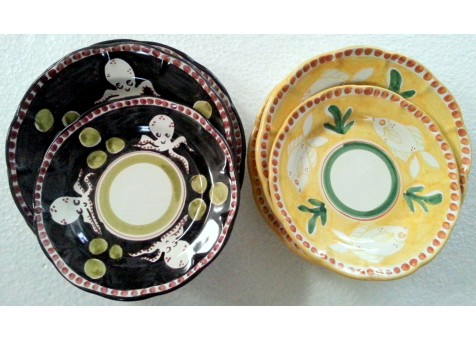 Set  of dishes( 6 pieces)