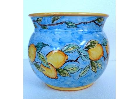 CACHE POT CM.30 - Ceramica Artistica Sorrentina