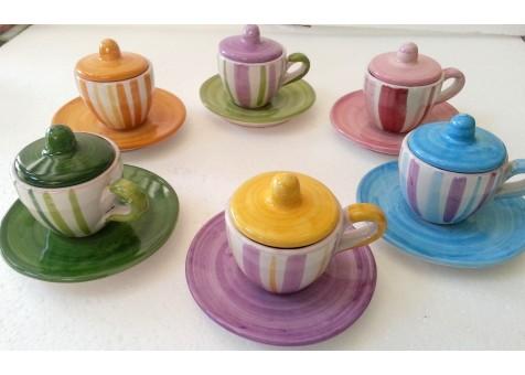SET CAFFE'(6 pezzi)