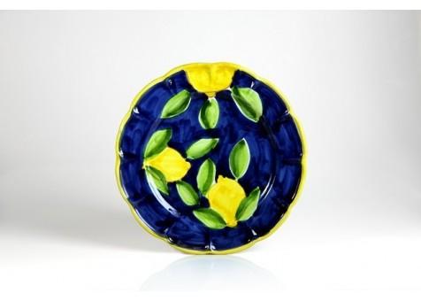 Piatto piano cm.30 limone positano